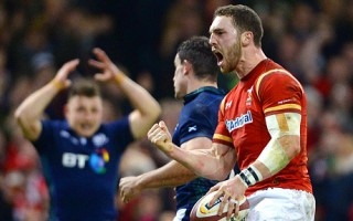 Wales v Scotland - RBS 6 Nations 2016, Britain - 13 Feb 2016