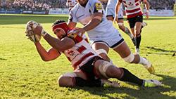 Partido entre Gloucester y Worcester Warriors